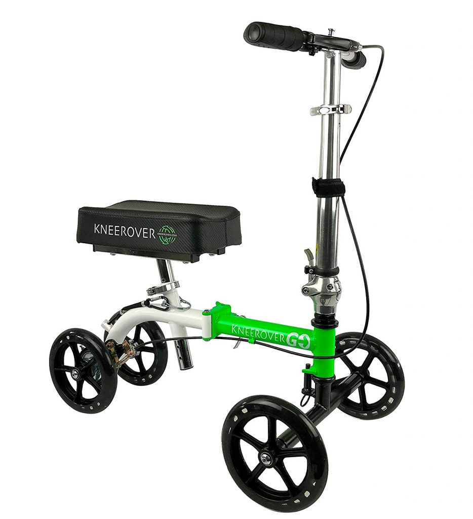 KneeRover GO Knee Walker - The Most Compact & Portable Knee Scooter